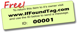 If Found Tag